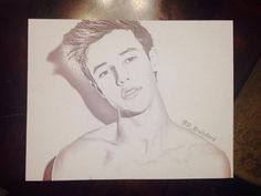 Cameron Dallas drawing