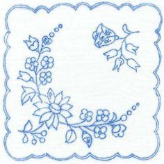 カロチャ刺繍図案入り生地 K1170 - Magyar Madár / マジャールマダール~ハンガリーの刺繍と雑貨~