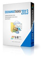 U-BTech Solutions LTD. - Exchange Tasks 2013 - Unlimited Mailbox License Discount Code  |   Best Software Discounts & Coupons