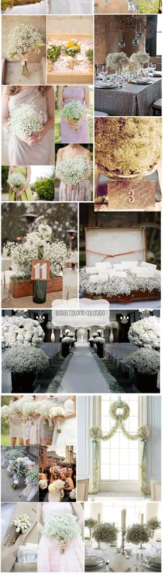 Decorar tu boda con Paniculata - Bodas Colorín Colorado -