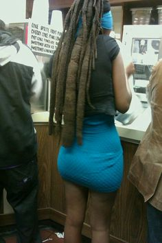 Thick free form locs