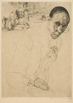 Jules De Bruycker, Zelfportret, 1925