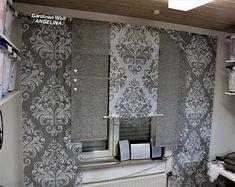 Moderne kreative Gardinen individuellen by GARDINANWELTANGELINA Sliding Curtains, Organize Your Life, Modern, Etsy Seller, Living Room, Trending Outfits, Home Decor, Baroque, Dekoration