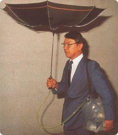 Pour collecter l'eau de pluie : | 18 inventions japonaises complètement inutiles