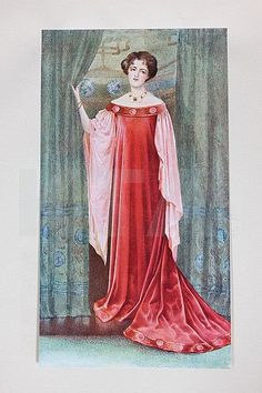 From Liberty & Co fashion catalogue 'Dress and Decoration', November, 1908,
