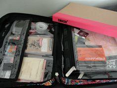 Jenns Doodles: Organizational tip ~ Smash book storage