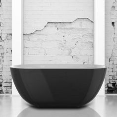 Mayfair Black 1500mm Freestanding Bath