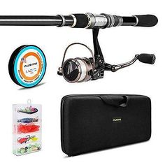 Other Rod and Reel Combos 179960: Plusinno Telescopic Fishing Rod And Reel Combos Full Kit, Spinning Fishing New -> BUY IT NOW ONLY: $67.61 on eBay!