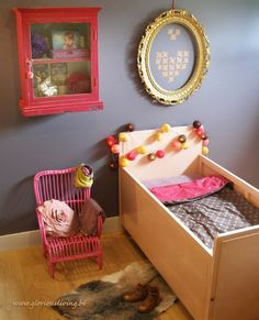 Chic for the little. #kids #decor