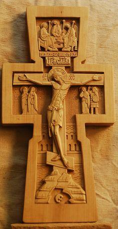 Esta Cruz de San Damian es realizado por San Francisco de Asis.
