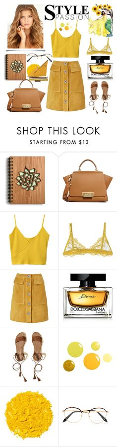 """""""style passion 💛"""" by anoo17k ❤ liked on Polyvore featuring ZAC Zac Posen, Christies, M.i.h Jeans, Dolce&Gabbana, Hollister Co., Illamasqua and Victoria Beckham"""