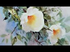 Trevor Waugh's Watercolour Flowers