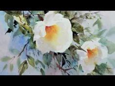 Trevor Waugh's Watercolour Flowers