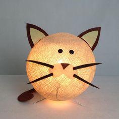 Lampada ZooCobo: gatto