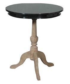 Ellington Round Side Table #zulily #zulilyfinds