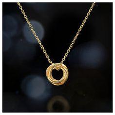 love knot necklace, 18k gold #dogeared #sharethehappy