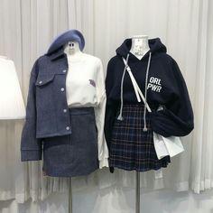 Check Out These Amazing korean street fashion 9051 Korean Fashion Trends, Korean Street Fashion, Korea Fashion, Asian Fashion, Cute Fashion, Teen Fashion, Fashion Outfits, Fashion Clothes, Fashion Styles