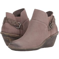 08c64bc0bb997 OTBT Rocker (Stone) Women s Pull-on Boots ( 159) ❤ liked on Polyvore  featuring shoes