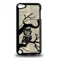 Vintage Owl On Tree iPod Touch 5th Generation Case