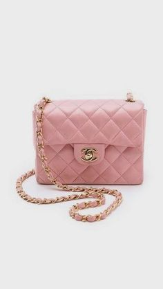 More BLUSH!  On a Chanel handbag.  Use everyday gorgeous items to come up with colors.