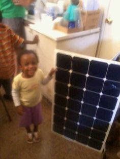 Even the smallest of us is generating her own energy  www.fivepointsyouthfoundation.org