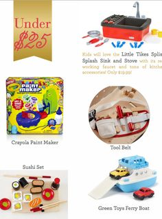 These budget friendly holiday gifts for kids are under $25! ad