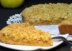 Apple Crumble Receta, Apple Crumble Pie, Apple Recipes, Sweet Recipes, No Bake Desserts, Delicious Desserts, Cooking Time, Cooking Recipes, Cooked Apples