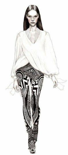 Hanna Muller7 Fashion illustrations by Hanna Muller