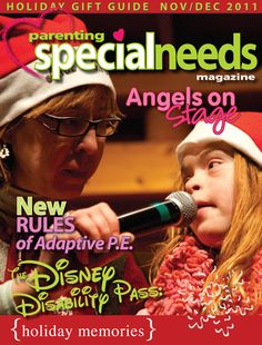 a wonderful online magazine for parents with special needs children or people who care about this topic