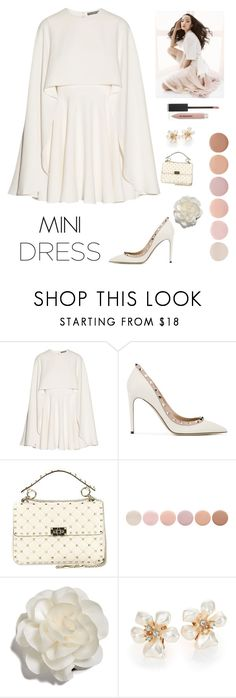 """""""Spring Mini"""" by kotnourka ❤ liked on Polyvore featuring Alexander McQueen, Valentino, Deborah Lippmann, Cara, Kenneth Jay Lane and Burberry"""