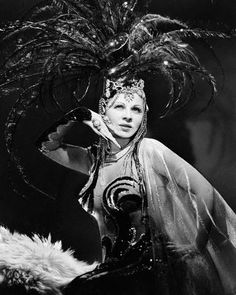 Mae West 1943 The Heat is On...lots of Joseff of Hollywood jewelry!!!