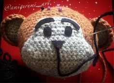 #amigurumimonkey #amigurumi #crochet #crochetaddict #crocheting #crocheted #crochetersofinstagram #handmade #instacrochet #inprogress #monkeyyear2016 by amigurumi_art