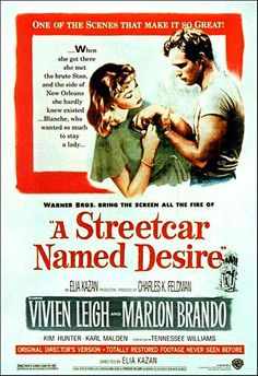 Another classic...interesting, and long, and such dramatic acting, which seems to be the case in all of these old movies. Who knew Marlon Brando was such a hottie?