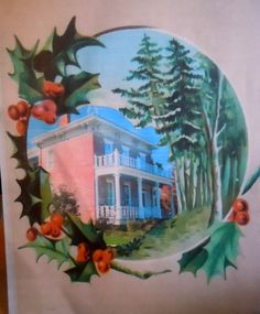 The 1845 Historic Elgin/Cottrell House Museum for Christmas 2012. Tours 573 242 9688