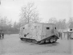Sturmpanzerwagen A.7.V. (Abteilung 7 Verkehrswesen) « Schnuck »