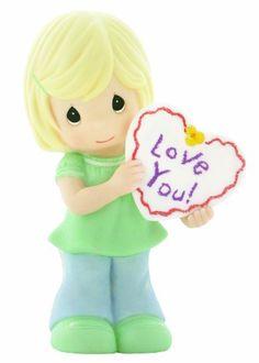 "Precious Moments ""Love You"" Girl Figurine"