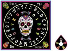Day of the Dead-Spirit Board [RSB545] - $34.95 : Wicca, Pagan and Occult Practice Mega Store - www.thetarotoracle.com