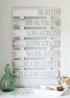 Family Rules Wood Sign {customizable}