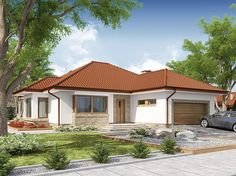 [No Survey] Kasandra 2 Bungalow House Design, Modern Bungalow, Home Building Design, Building A House, Story House, My House, Small Contemporary House Plans, Best Living Room Design, Kerala Houses