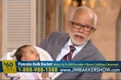 Televangelist Jim Bakker Demands Viewers Buy His Pancake Mix