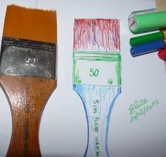 spatler #croquis #dessin Pour en voir d'autres, c'est ici http://www.pigmentropie.fr/2016/03/11-outils-indispensables-peindre/ #art #peindre #paint #peinture