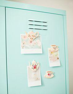 [바보사랑] 아기자기 자석 DIY /마그넷/냉장고/러블리/티팟/미니/디자인소품