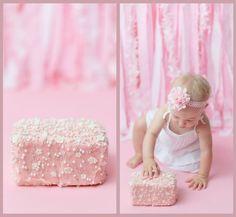 #babycake #smashcake #pinkcake #birthdaycake #cutecake #buttercreamcake #firstbirthdaycake #customcake