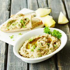 Baba Ganoush, Hummus, Risotto, Tapas, Ethnic Recipes, Foods, Party, Food Food, Food Items
