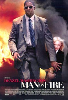 """'Man on Fire'~2004 Denzel Washington,Christopher Walkin,Mickey Rourke as """"Jordan Kalfus"""".."""