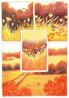 drawing, comic panel - Comics And Cartoons Art Inspo, Kunst Inspo, Inspiration Art, Comic Kunst, Comic Art, Art And Illustration, Comic Illustrations, Bel Art, Comic Layout