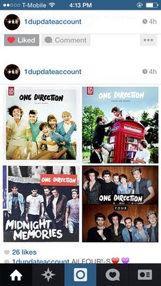 You go one direction so proud of you guys