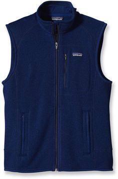 Soft, warm and durable—the men's Patagonia Better Sweater vest. #REIGifts