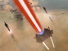 """3D Studio Max creation, """"Battle in the Sands."""""""