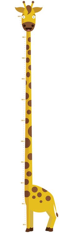 The Tallest Giraffe growth chart - Available on Etsy: http://www.etsy.com/listing/106600761/kids-wall-art-growth-chart-the-tallest